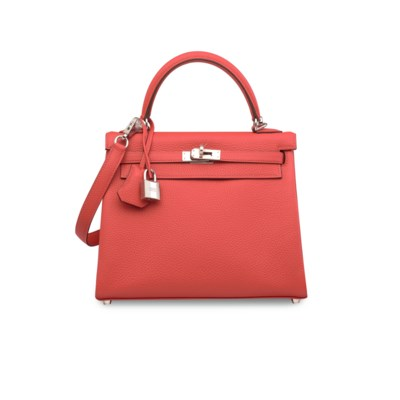 A ROUGE PIVOINE TOGO LEATHER R