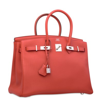 A ROUGE CASAQUE TOGO LEATHER B