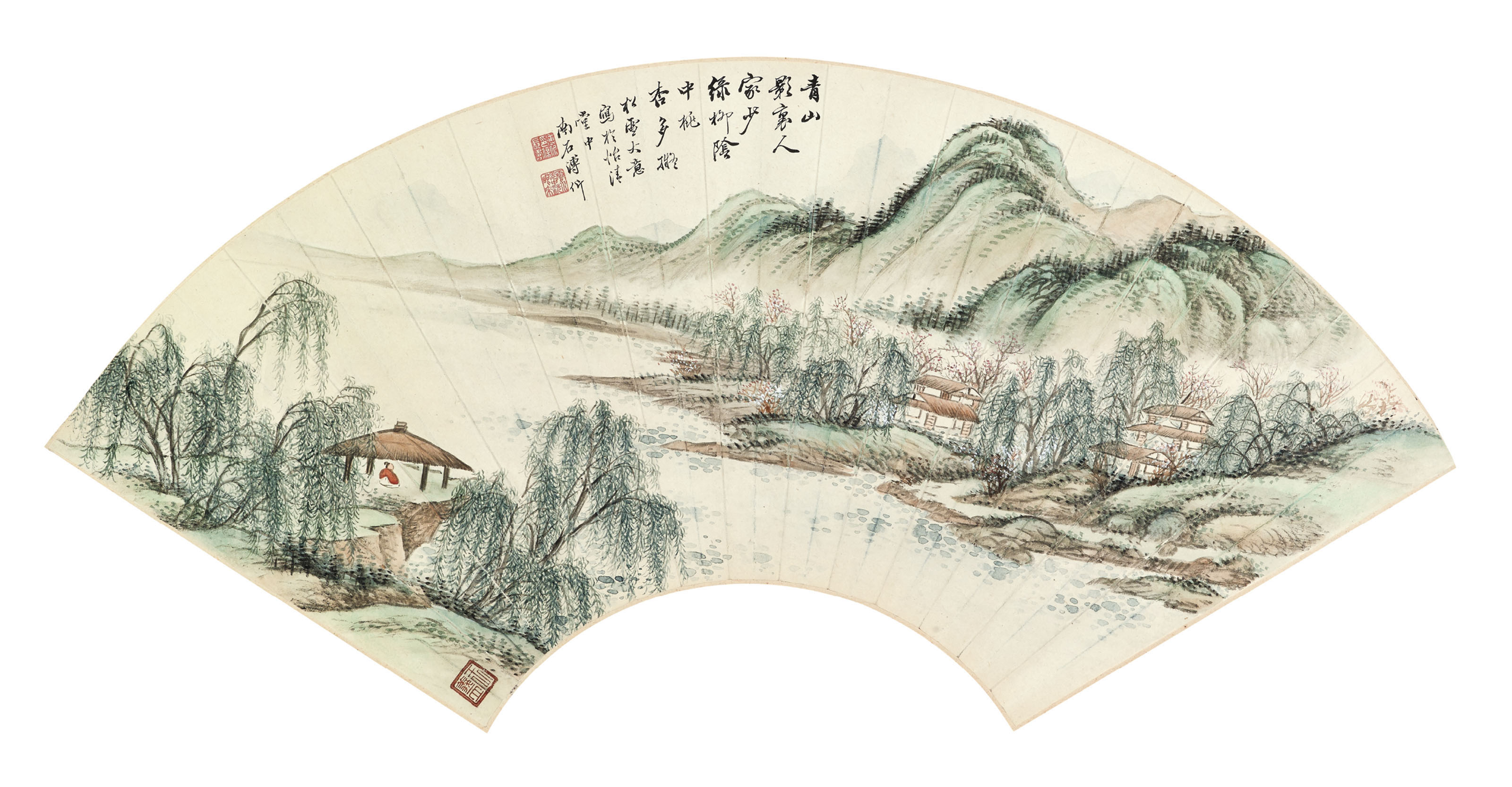 Landscape in the Style of Zhao Mengfu