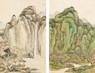 WANG YU (ACTIVE 1710-1750)
