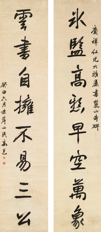 GAO YONG (1850-1921)