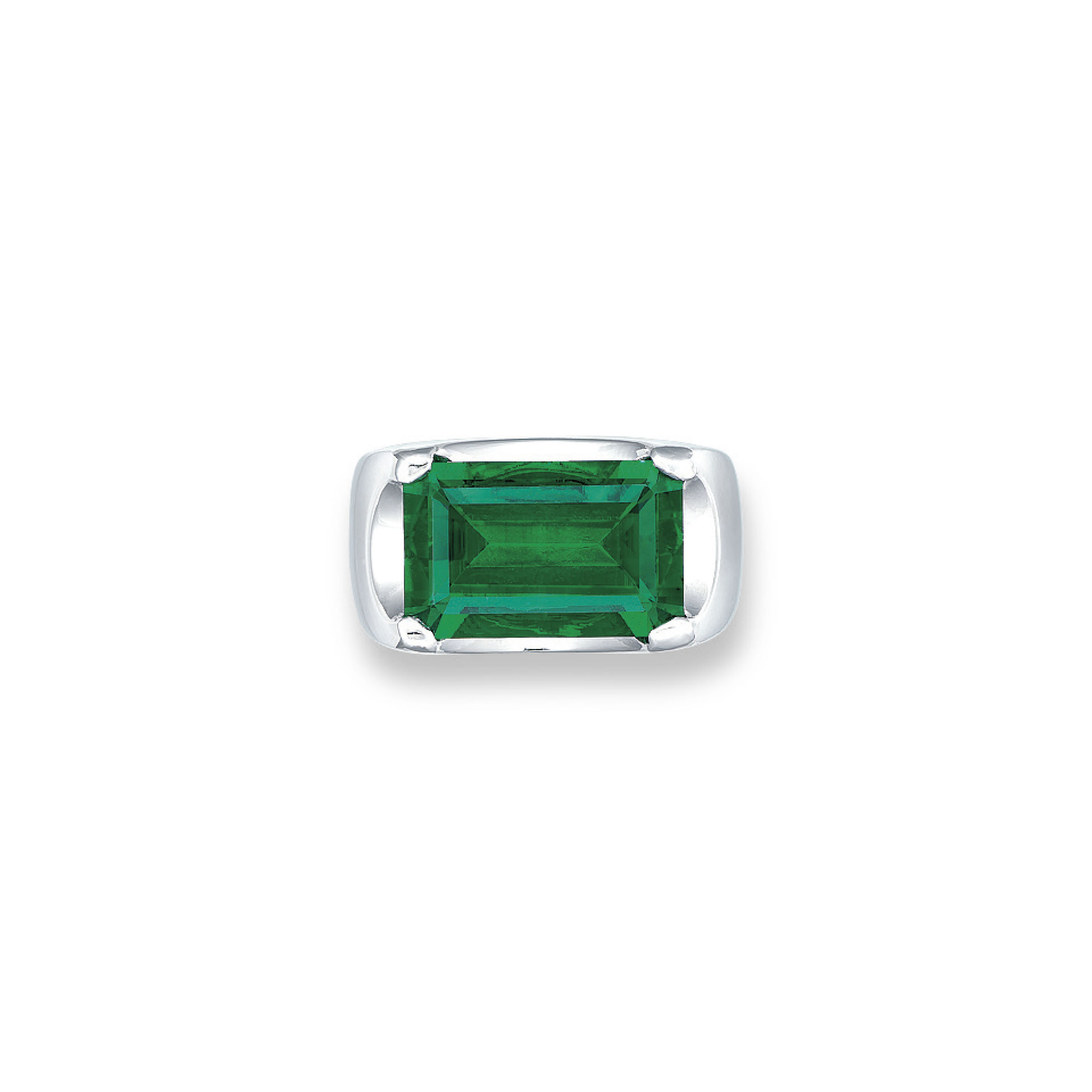 AN EXCEPTIONAL EMERALD RING