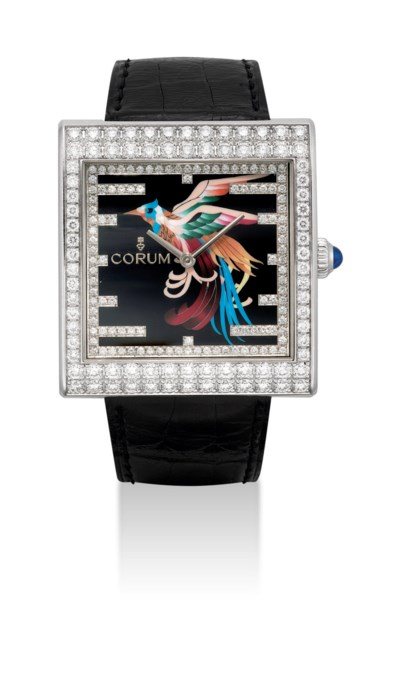 CORUM. A UNIQUE AND FINE 18K W