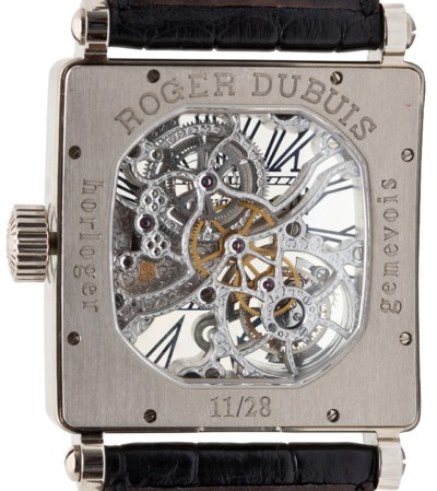 ROGER DUBUIS. A FINE AND VERY