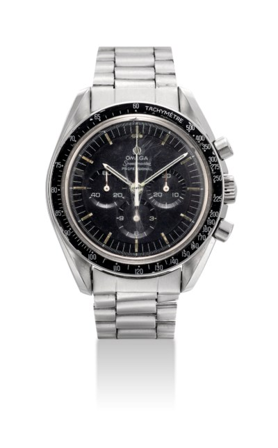 OMEGA. A STAINLESS STEEL CHRON