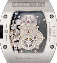 RICHARD MILLE. A FINE 18K WHIT