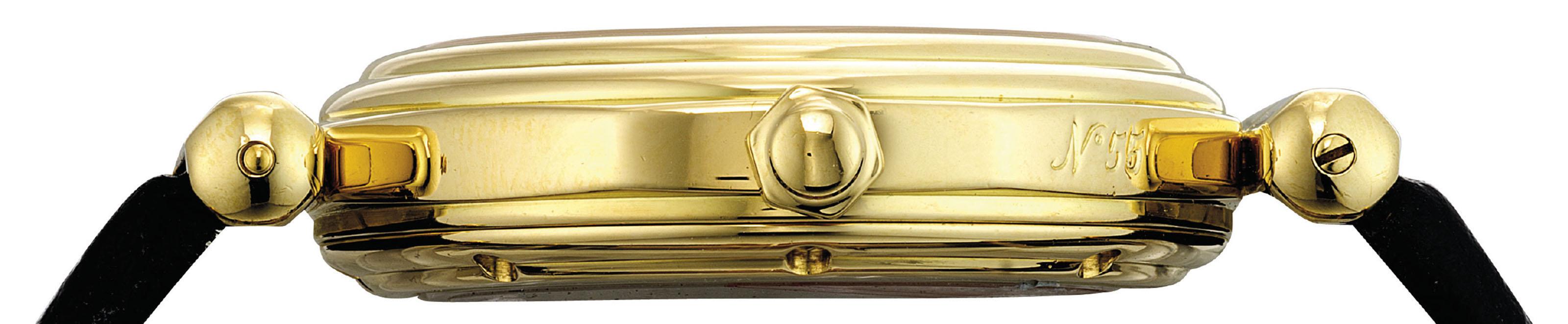 GERALD GENTA. A FINE 18K GOLD