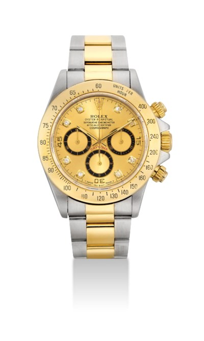ROLEX. A RARE STAINLESS STEEL,