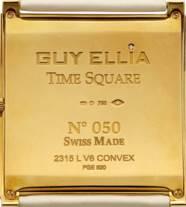 GUY ELLIA. A LARGE 18K GOLD AN
