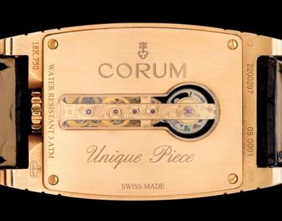 CORUM. A FINE AND UNIQUE 18K P
