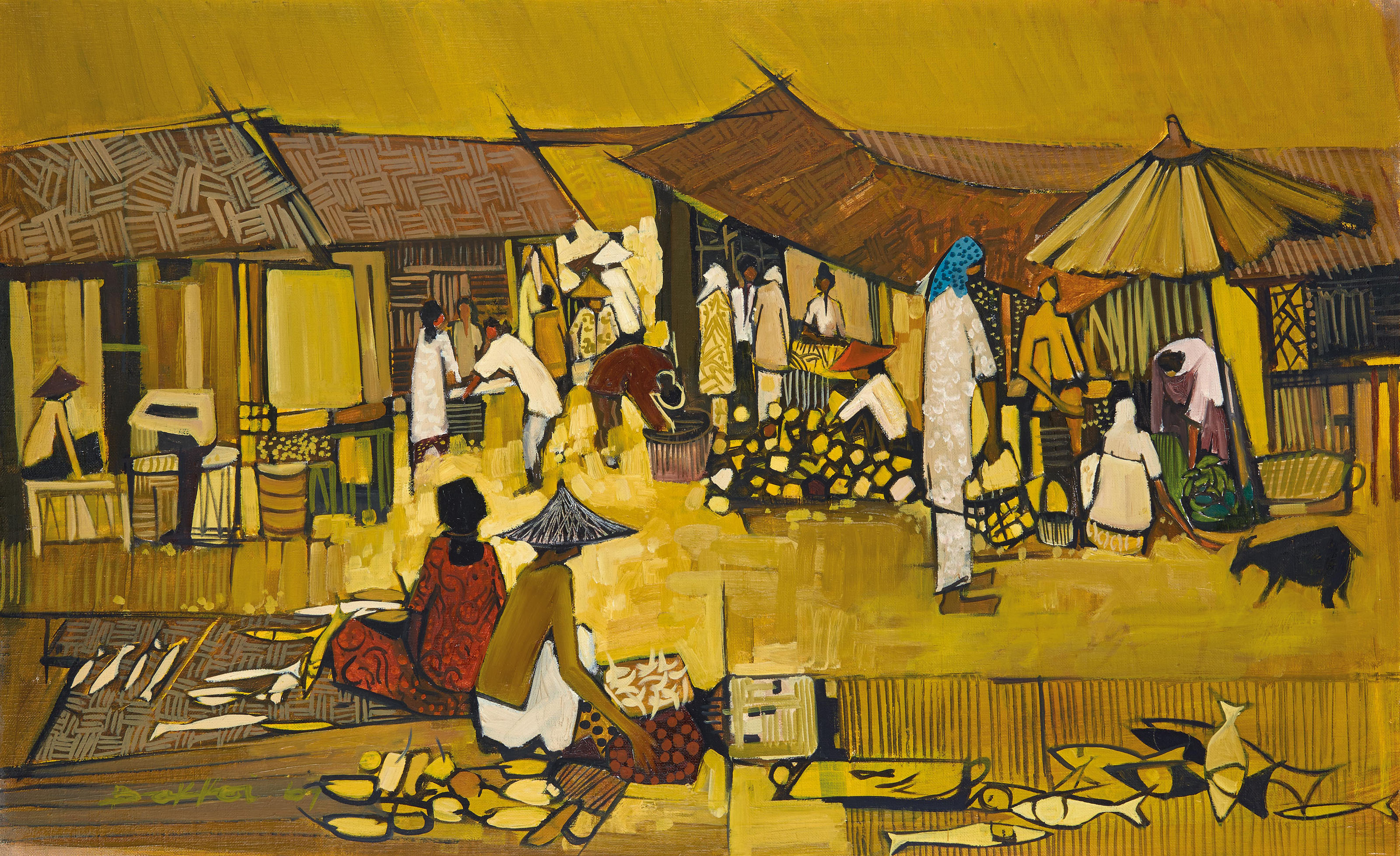 At the Market