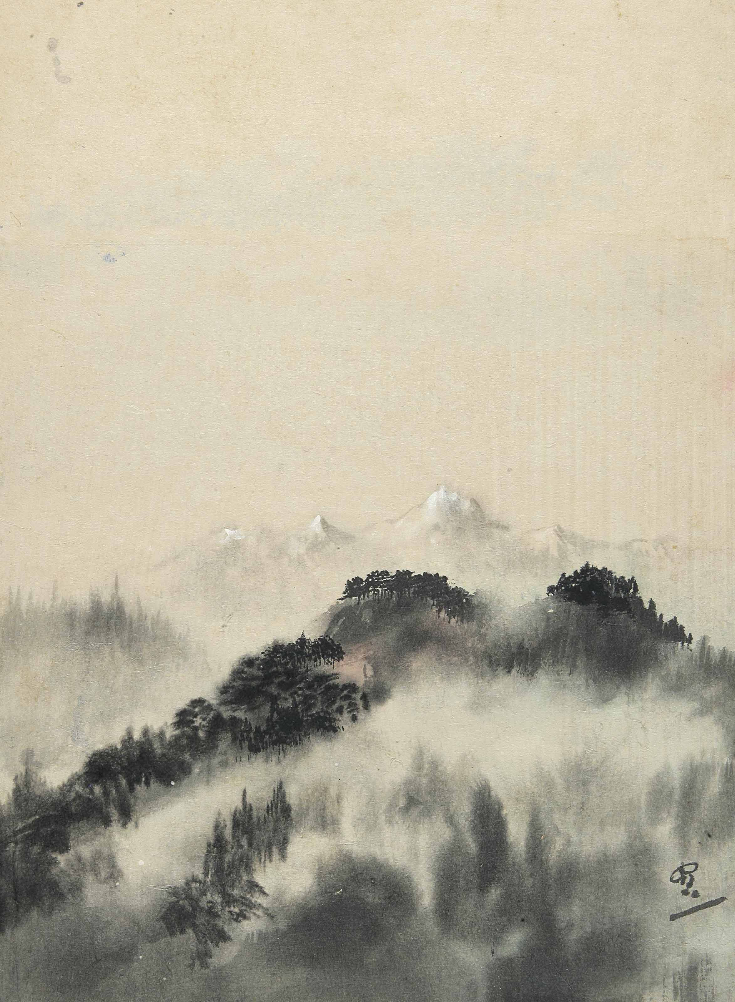 Untitled (Himalayan Landscape)