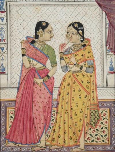 Two courtly ladies