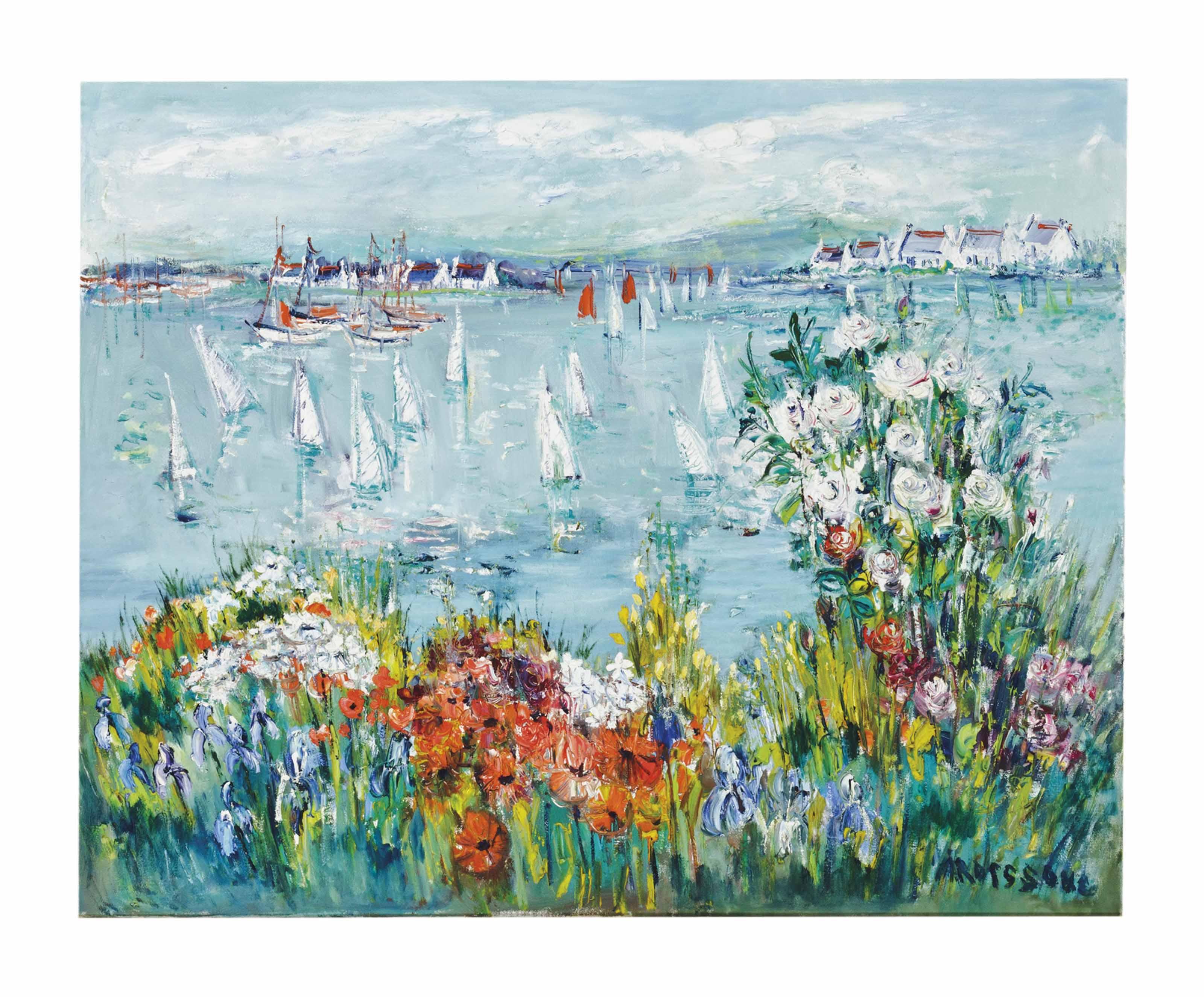 Fleur et bateaux