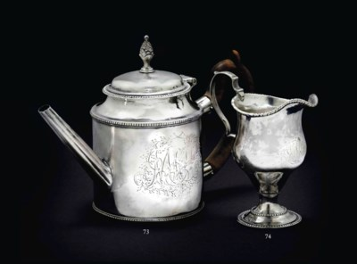 AN IMPORTANT SILVER TEAPOT MAD