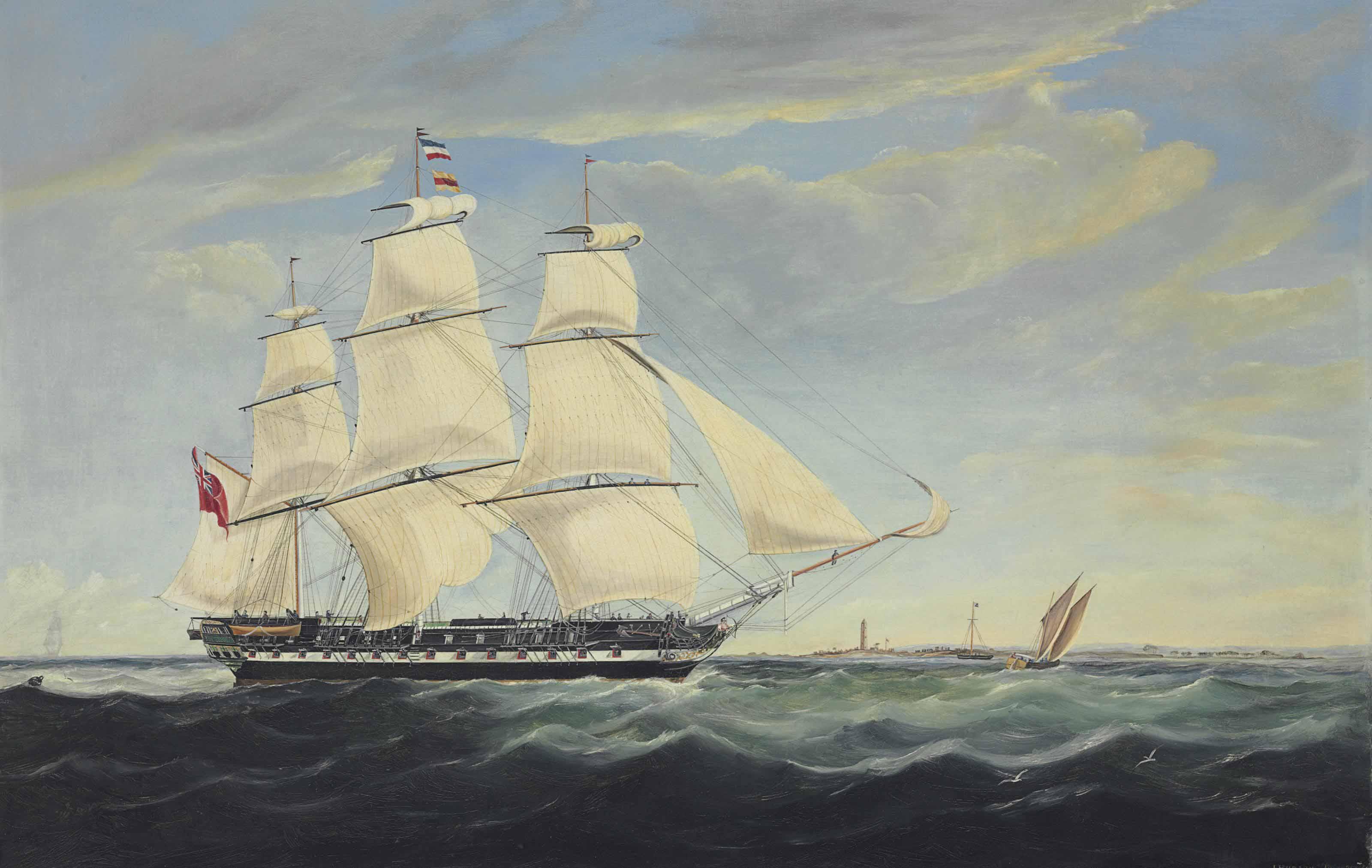 J. Hudson, 19th Century