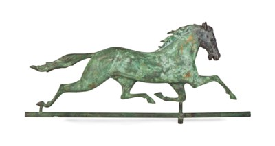 A MOLDED COPPER AND IRON RUNNI