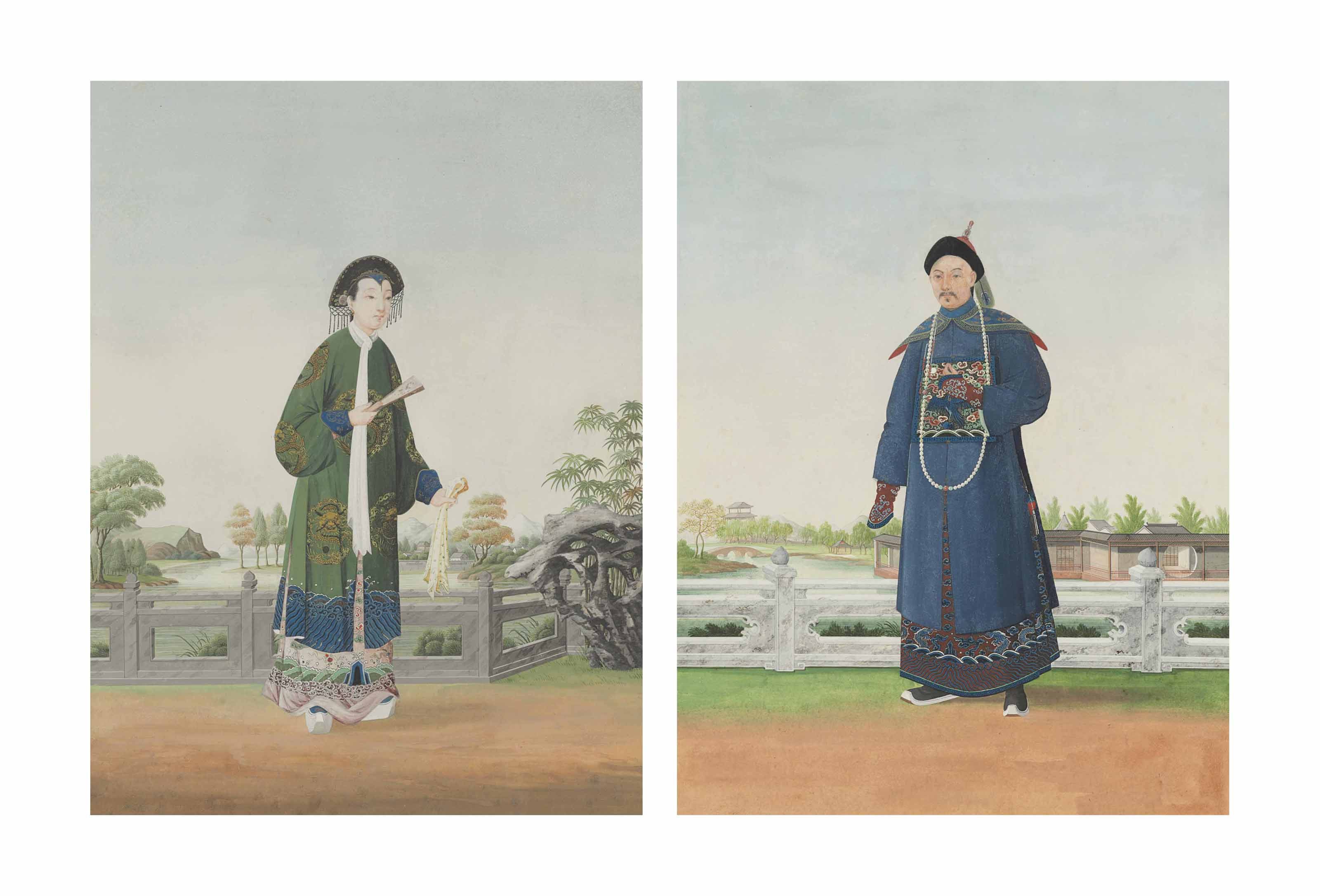 Chinese School, Late 18th Cent