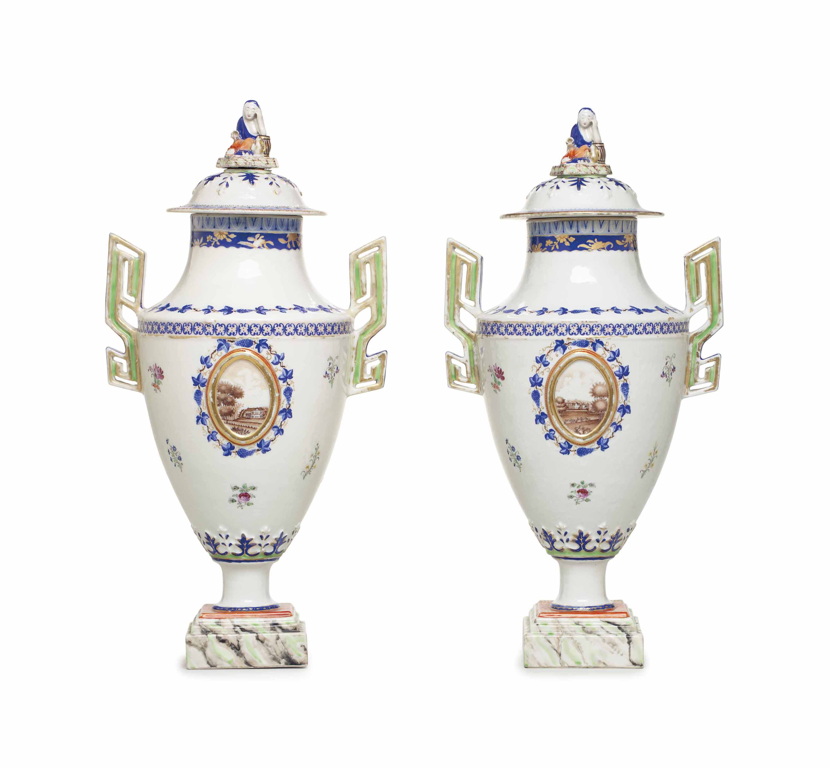 A LARGE PAIR OF NEOCLASSICAL U