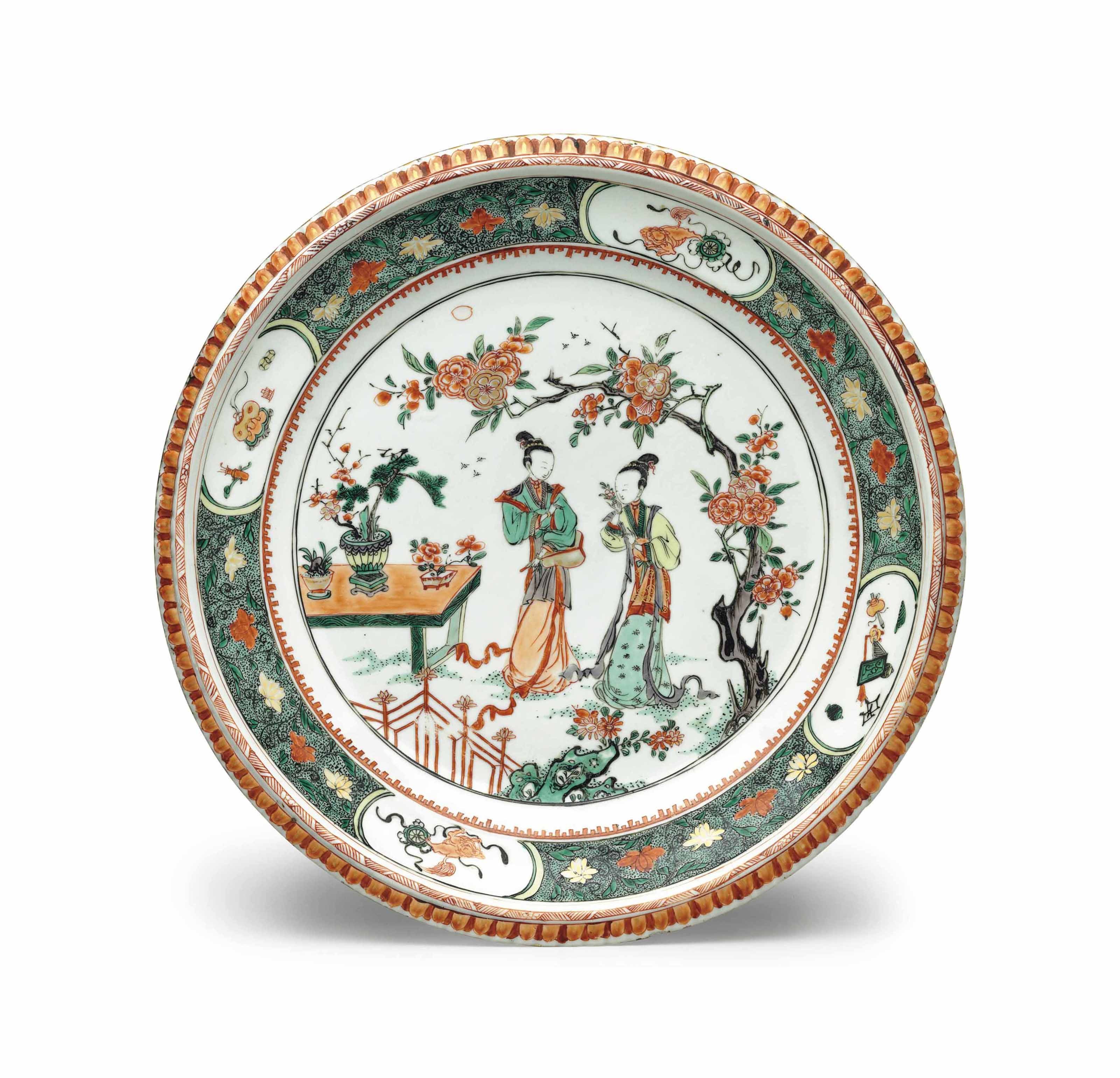 A FAMILLE VERTE DISH
