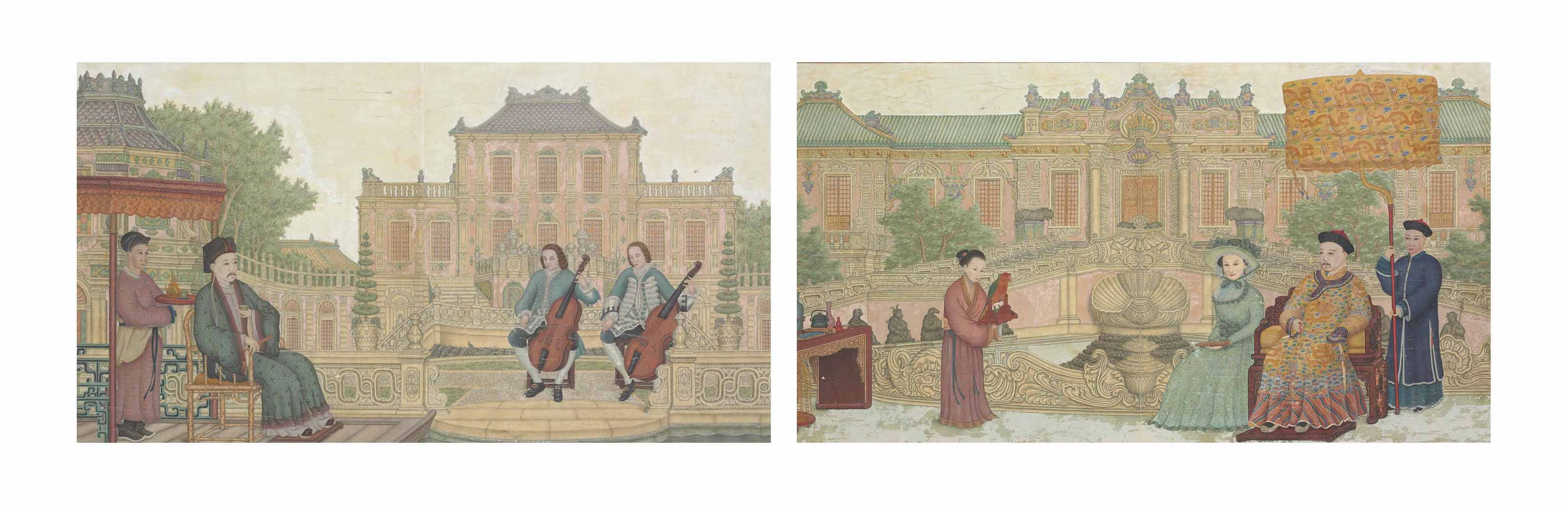 CHINESE SCHOOL, 18TH/19TH CENT