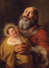 Saint Simon with the Christ Child