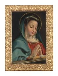 The Virgin at prayer