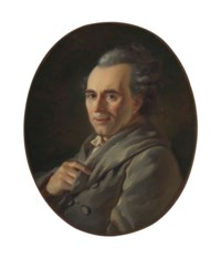 Portrait of Michel-Jean Sedaine