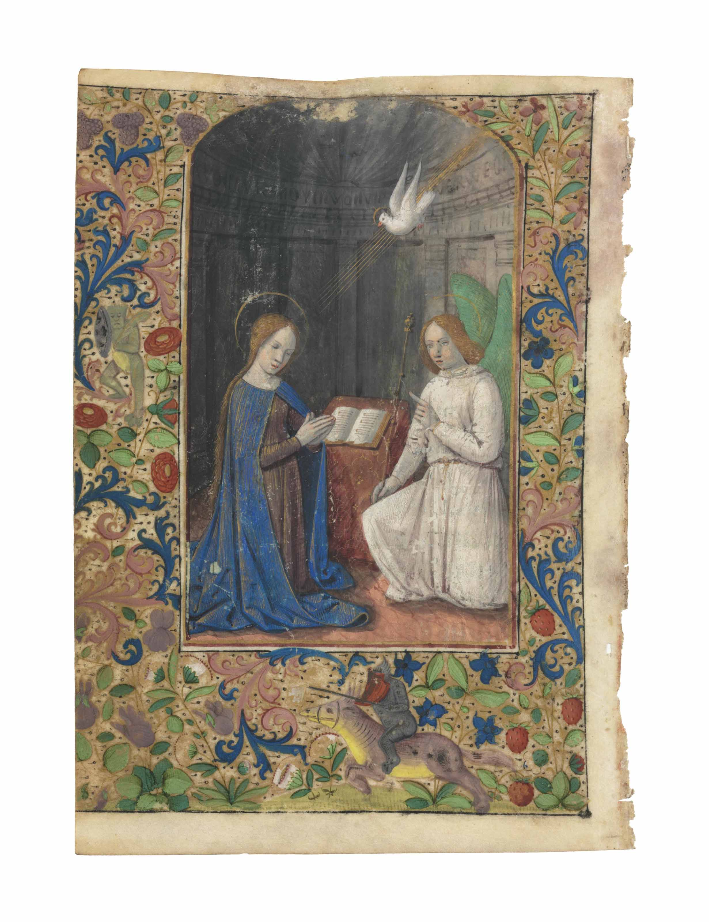 THE ANNUNCIATION, full-page mi