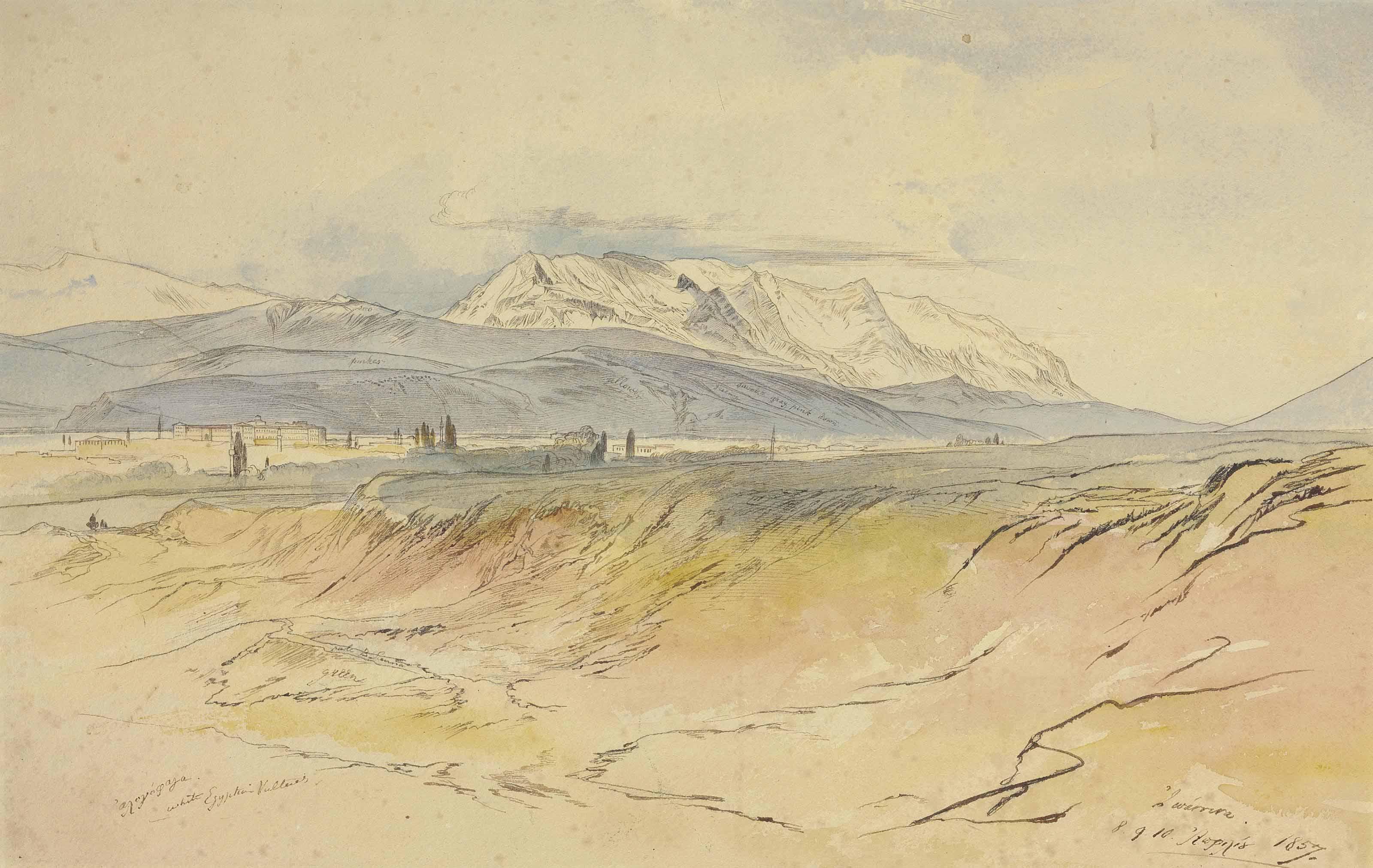 Edward Lear (London 1812-1888 San Remo, Italy)