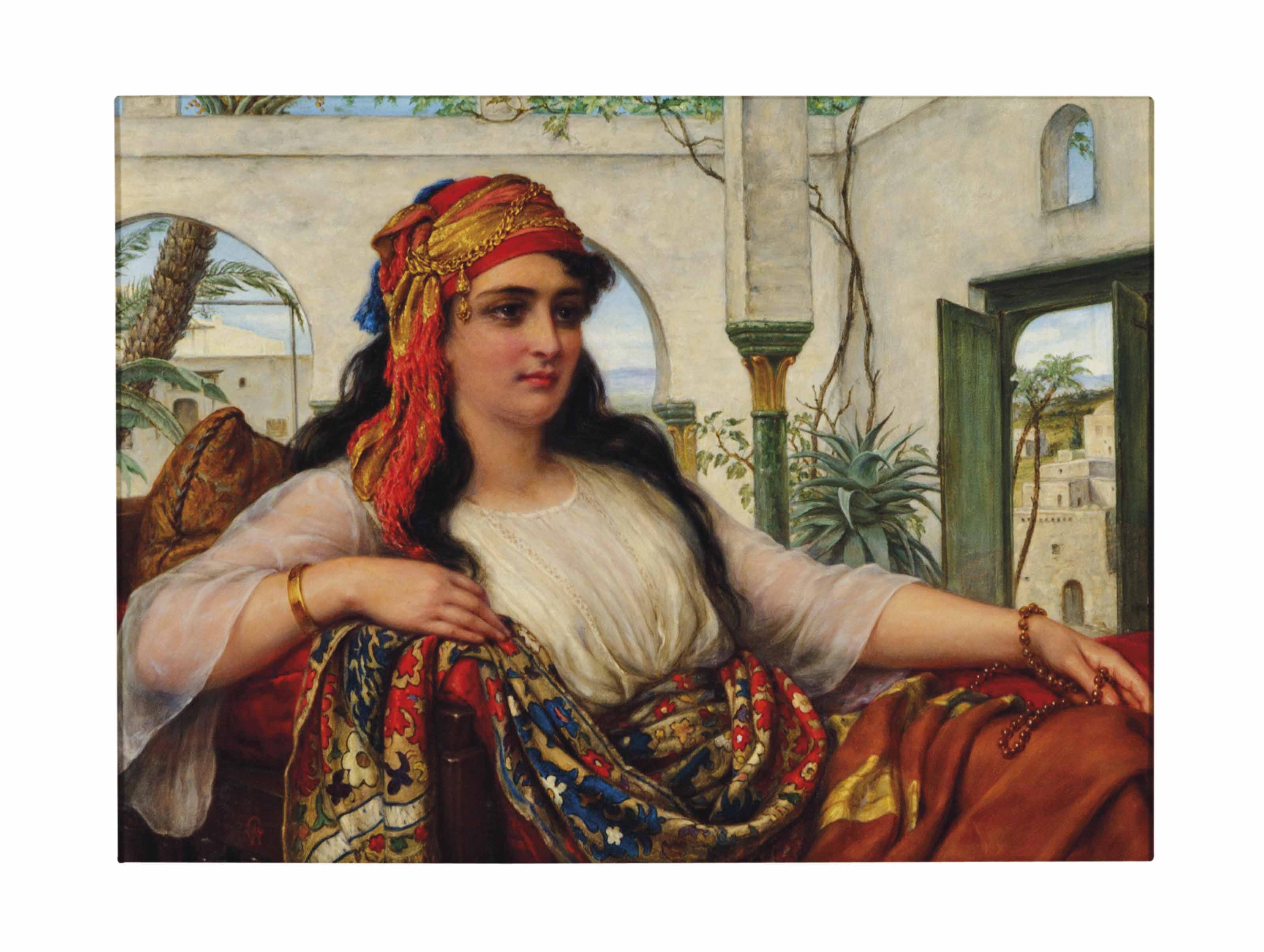 Reclining Harem Woman