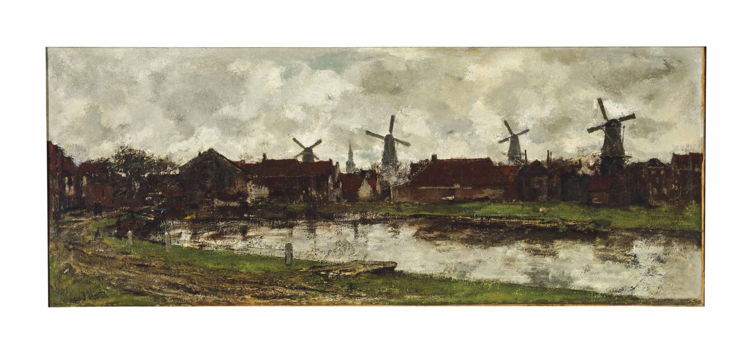 Jacob Henricus Maris (Dutch, 1