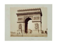 Arc de L'Etoile, c. 1850