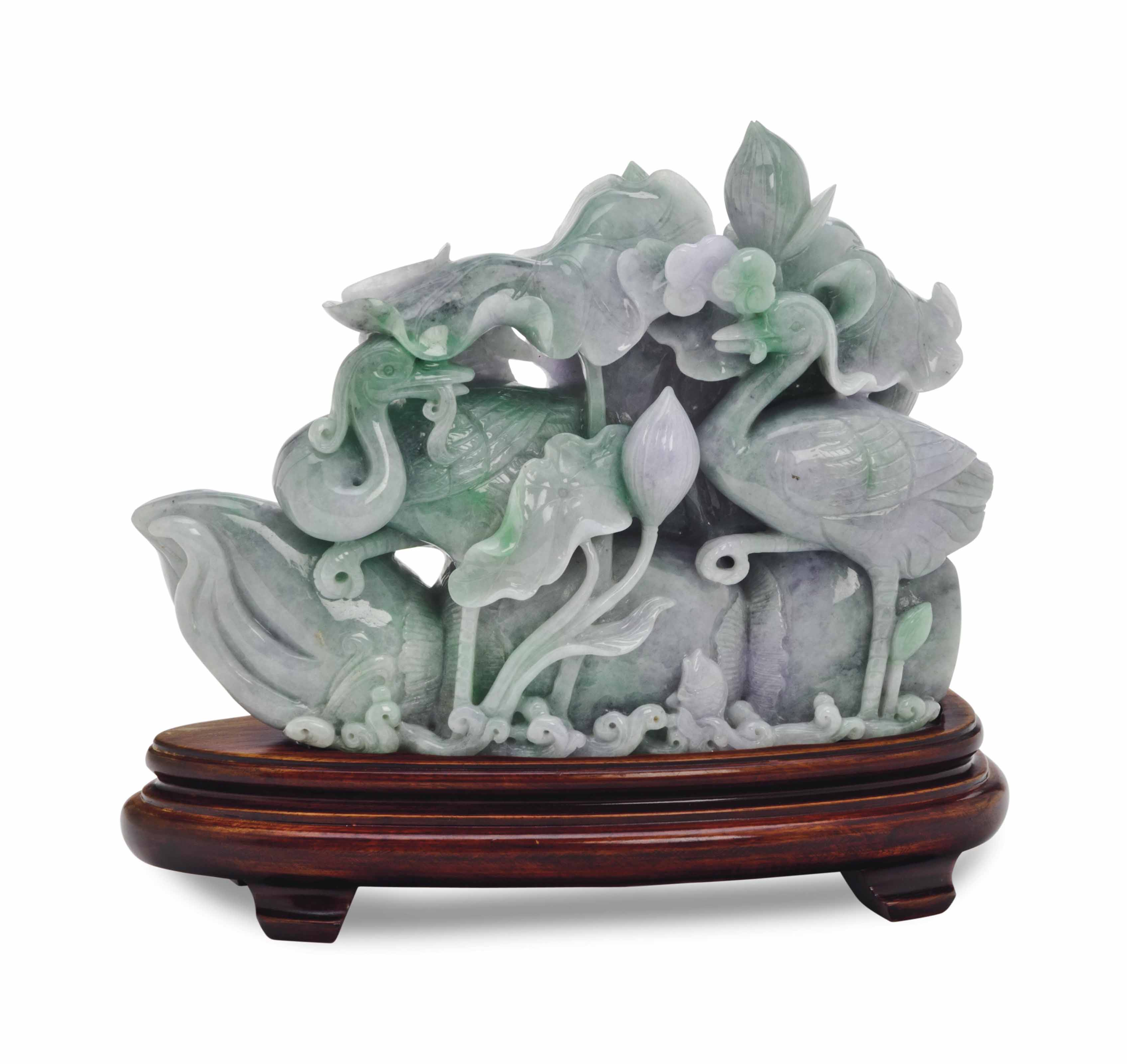 A CHINESE CELADON JADE PLAQUE,