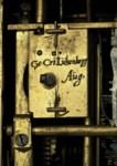 A GERMAN ENGRAVED GILT-BRASS A