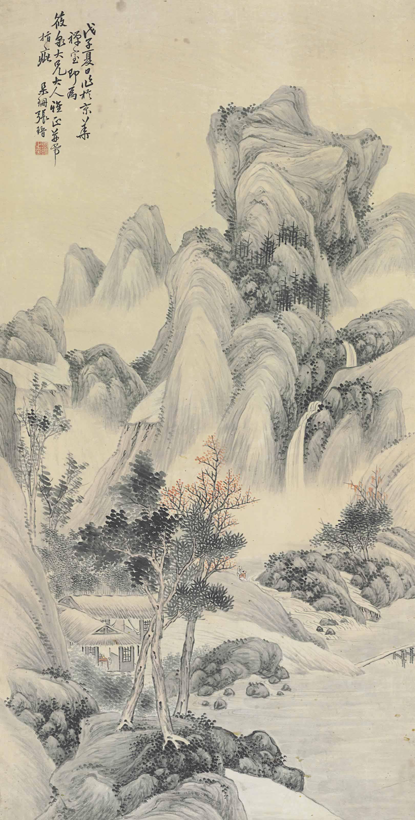 ZHANG JIN (1847-1936)