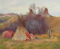 Cheyenne Medicine Tepee