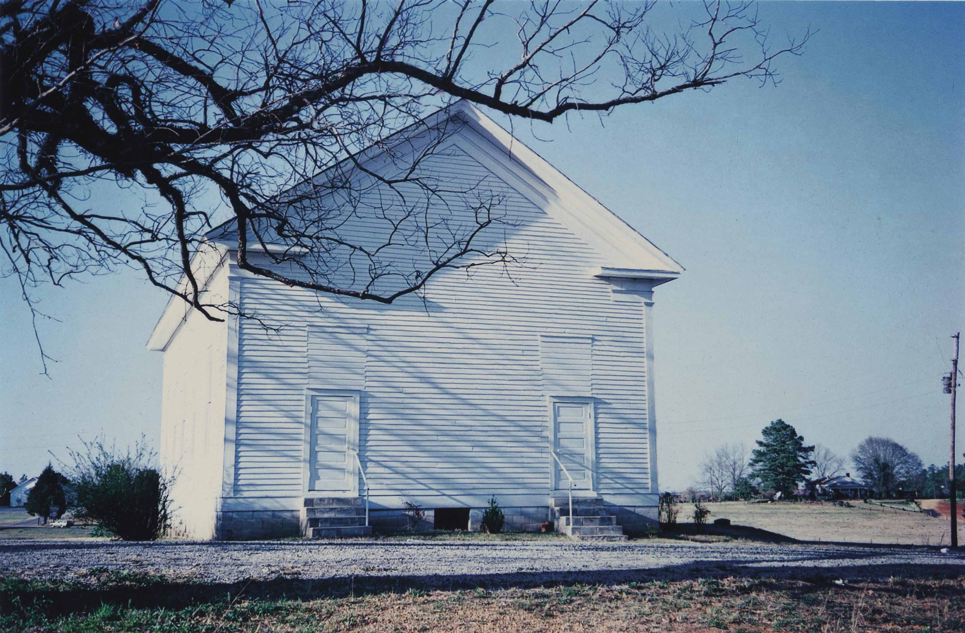 Church, Hale County, Alabama, March 1976