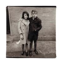 Teenage Couple on Hudson Street, N.Y.C., 1963
