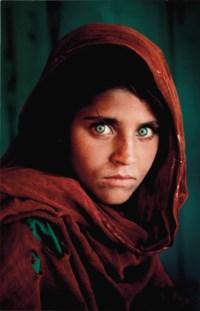 Afghan Girl, Sharbat Gula, Peshawar, Pakistan, 1984