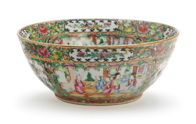 A CHINESE EXPORT PORCELAIN 'CA