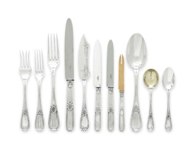 A FRENCH SILVER TABLE SERVICE