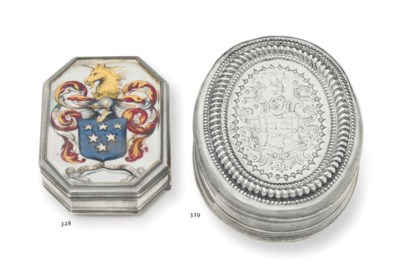 A WILLIAM AND MARY SILVER AND