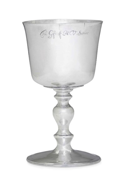 A COMMONWEALTH SILVER WINE CUP