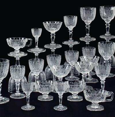 Th Stemware Century Glass Goblets