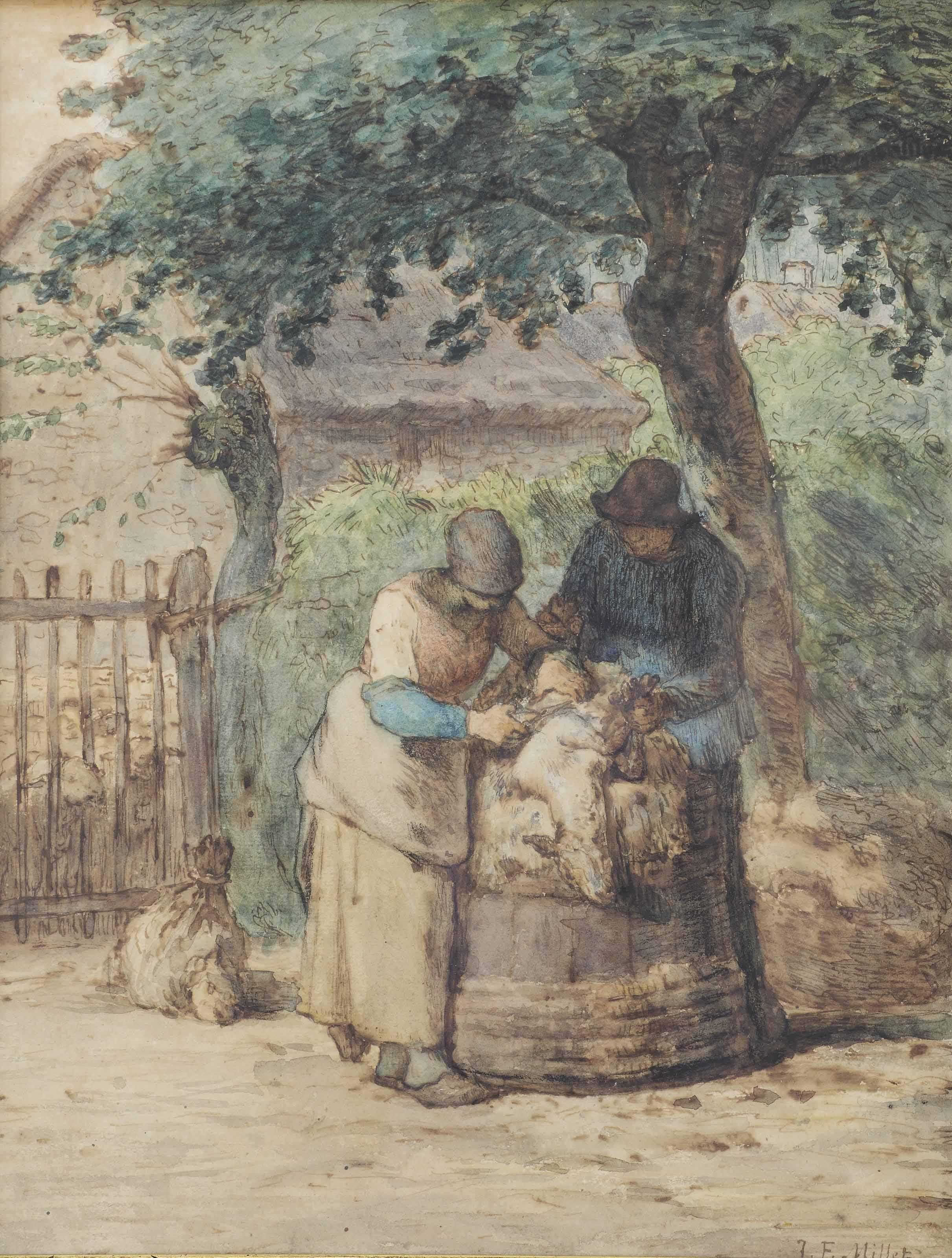 Jean-François Millet (French, 1814-1875)