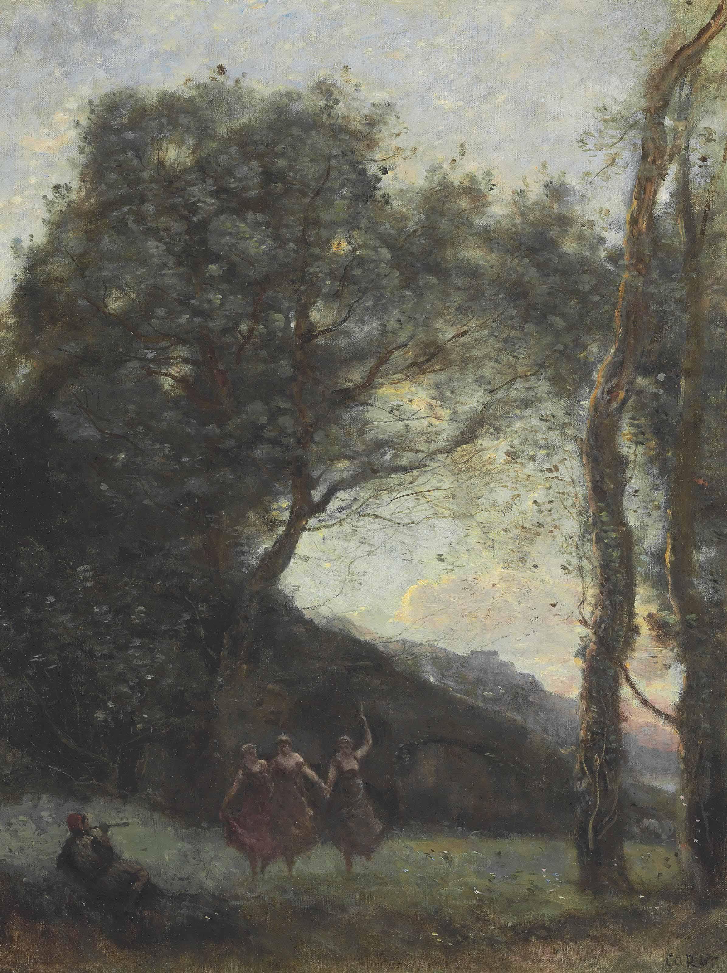 Jean Baptiste Corot Paintings For Sale