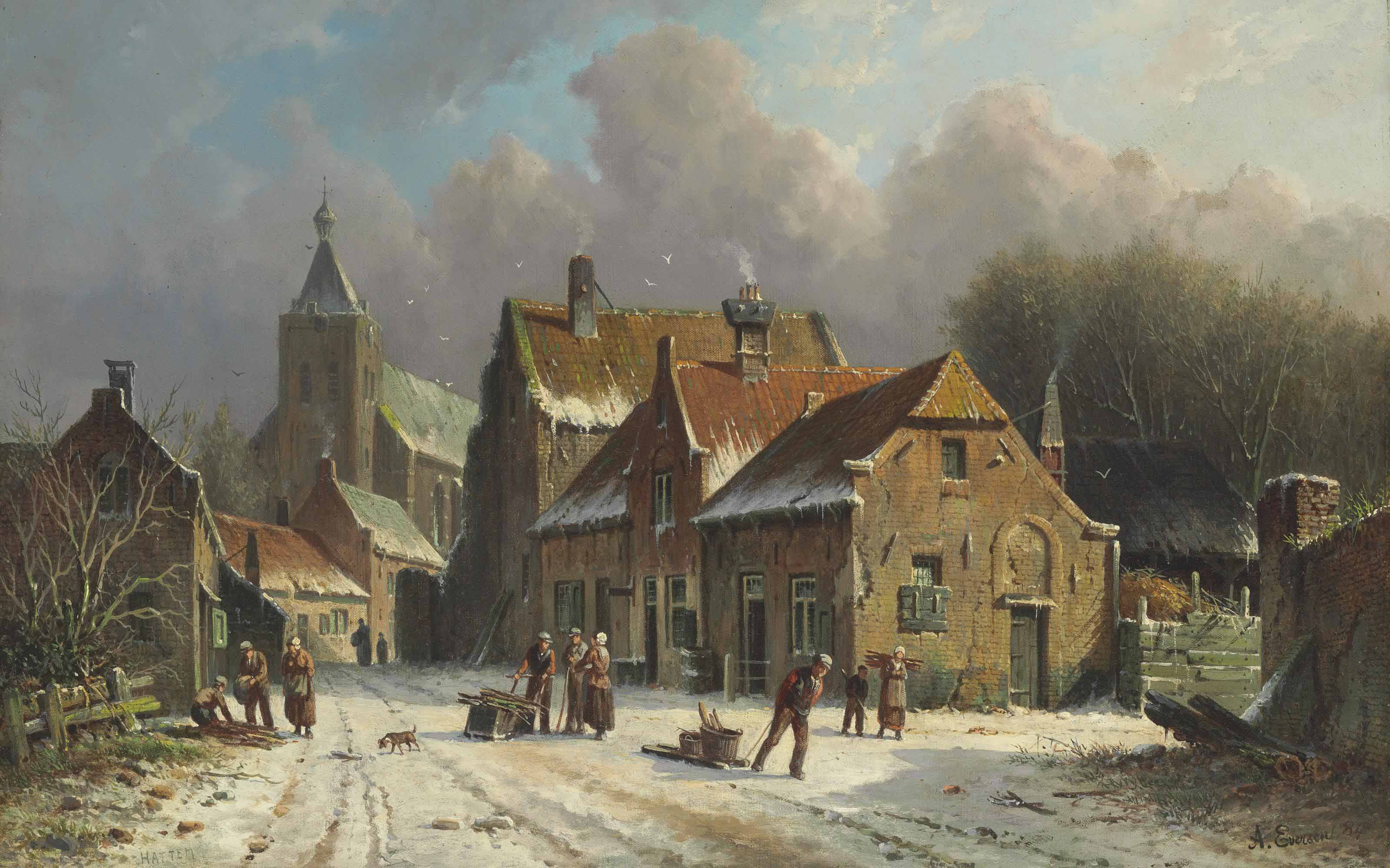Adrianus Eversen (Dutch, 1897-