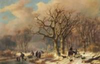 A Frozen Winter Landscape