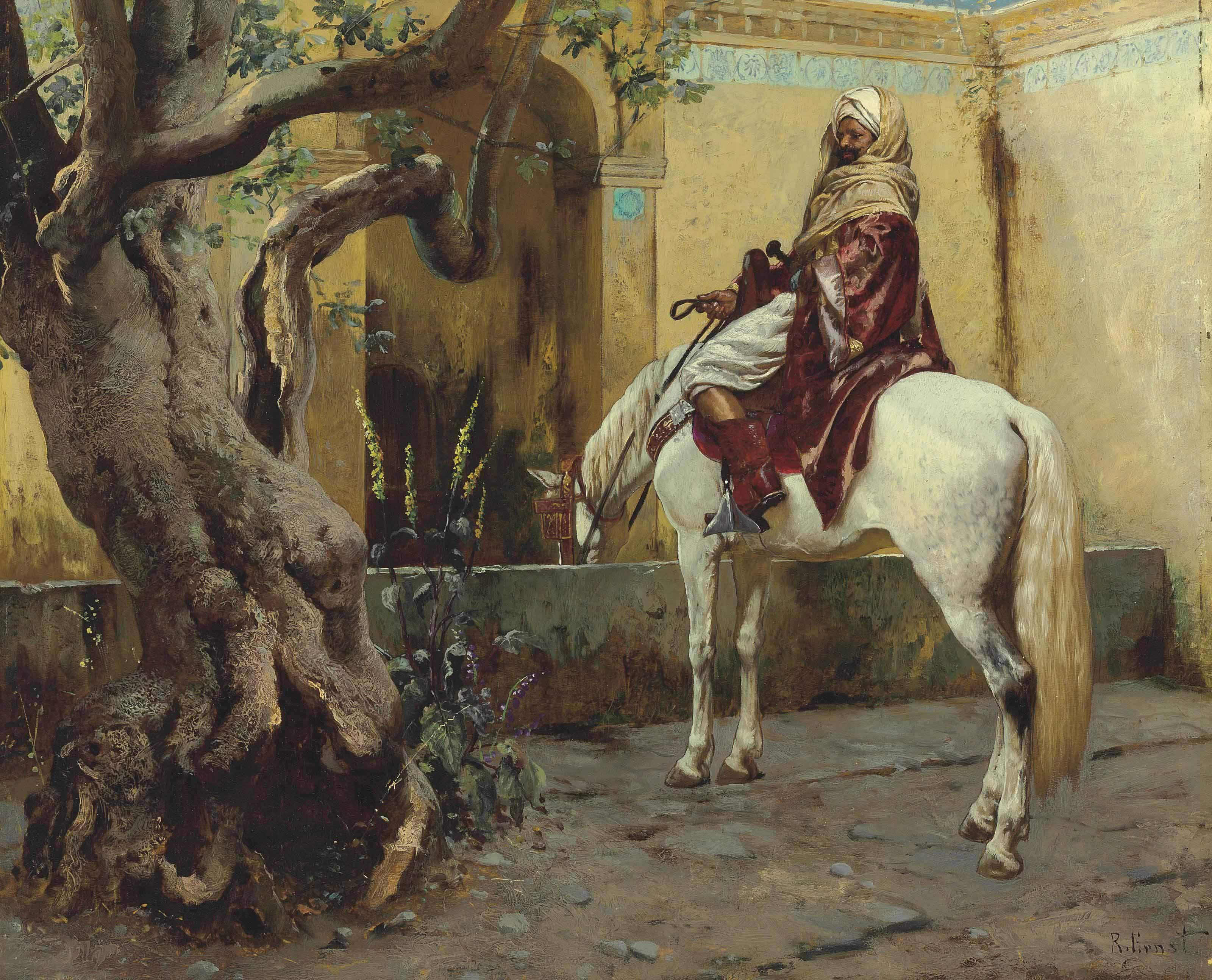 Rudolf Ernst (Austrian, 1854-1
